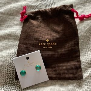 NWT Kate Spade turquoise earrings